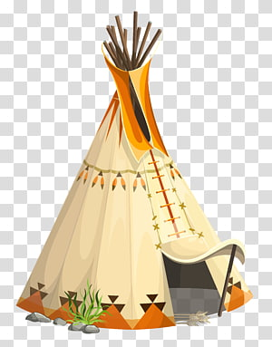 Teepee transparent background PNG cliparts free download.