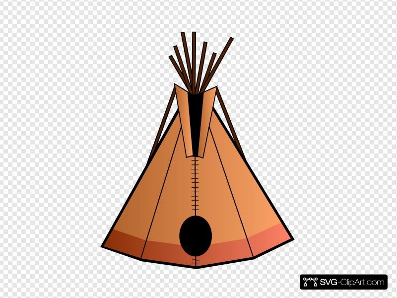 Teepee Clip art, Icon and SVG.