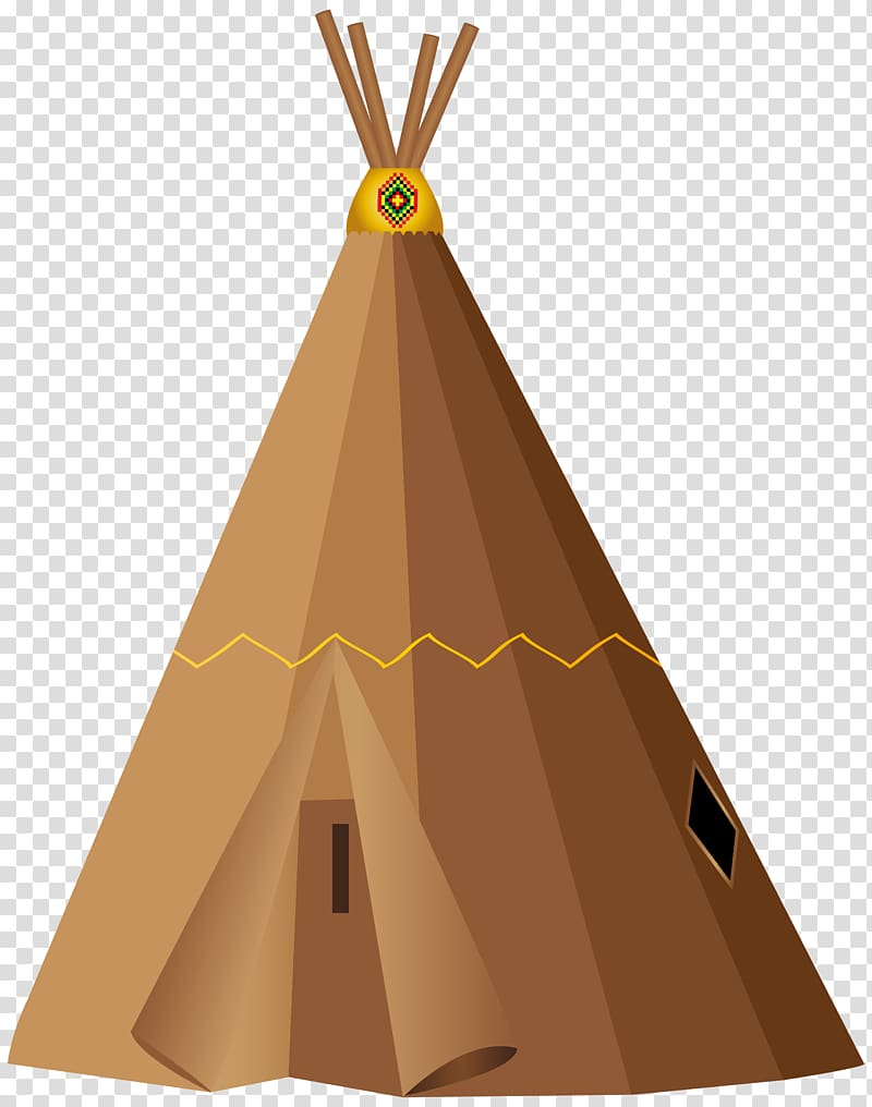 Pow wow Tipi Tent , teepee tent transparent background PNG.