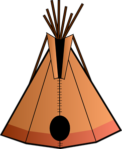 Teepee PNG, SVG Clip art for Web.