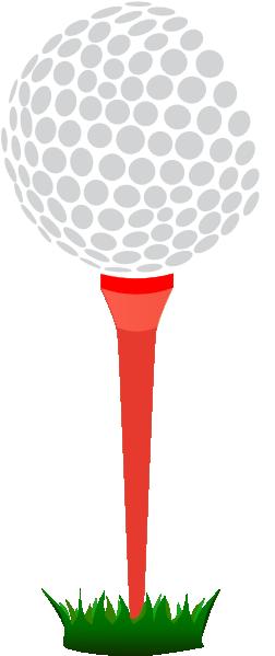 Golf Tee Clipart.