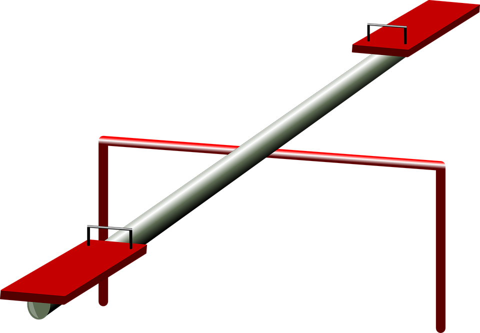 Free vector graphic: Seesaw, Teeter.