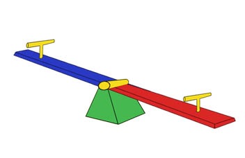 Teeter Totter Clipart.