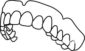 Teeth Clip Art Black And White.