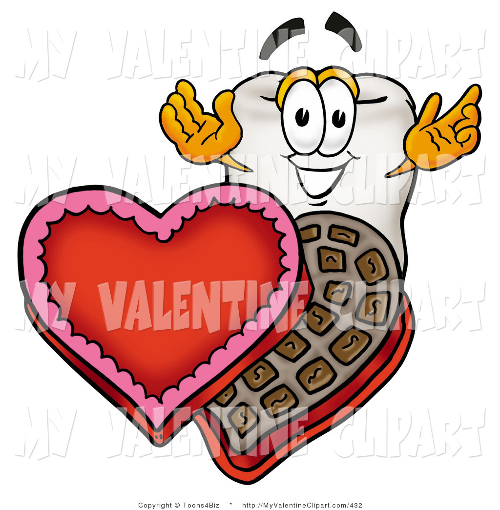 Teeth Clipart For Valentine.