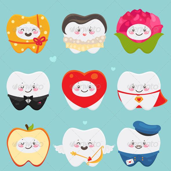 Teeth on Valentines Day.