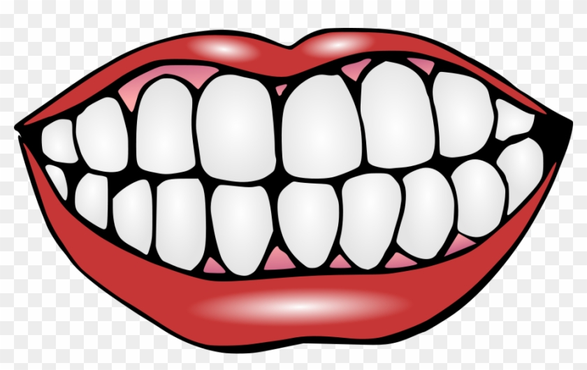 Mouth With Teeth Clipart.