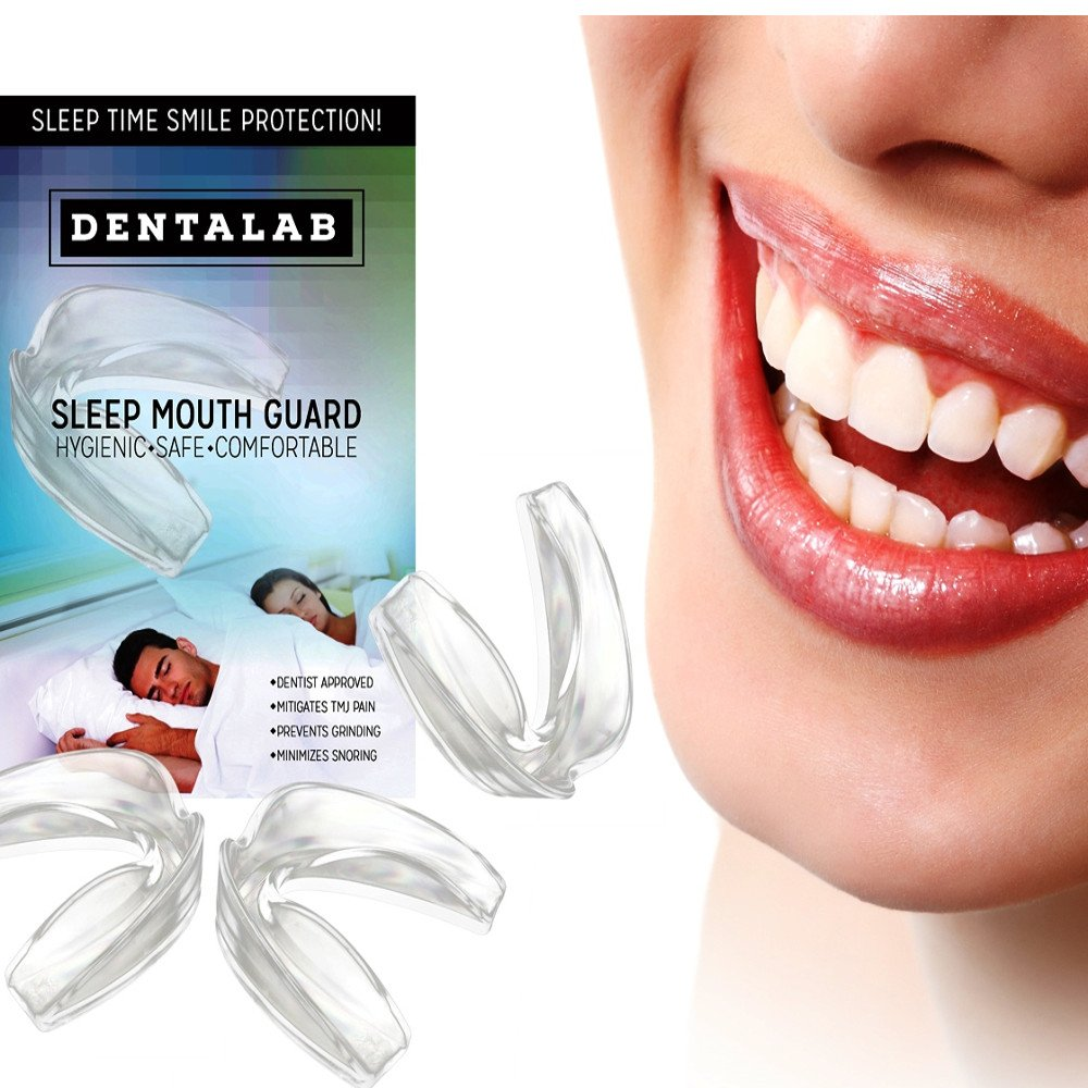 TMJ Mouth Guard Night Time for Grinding Teeth, Bruxism, And Clenching.