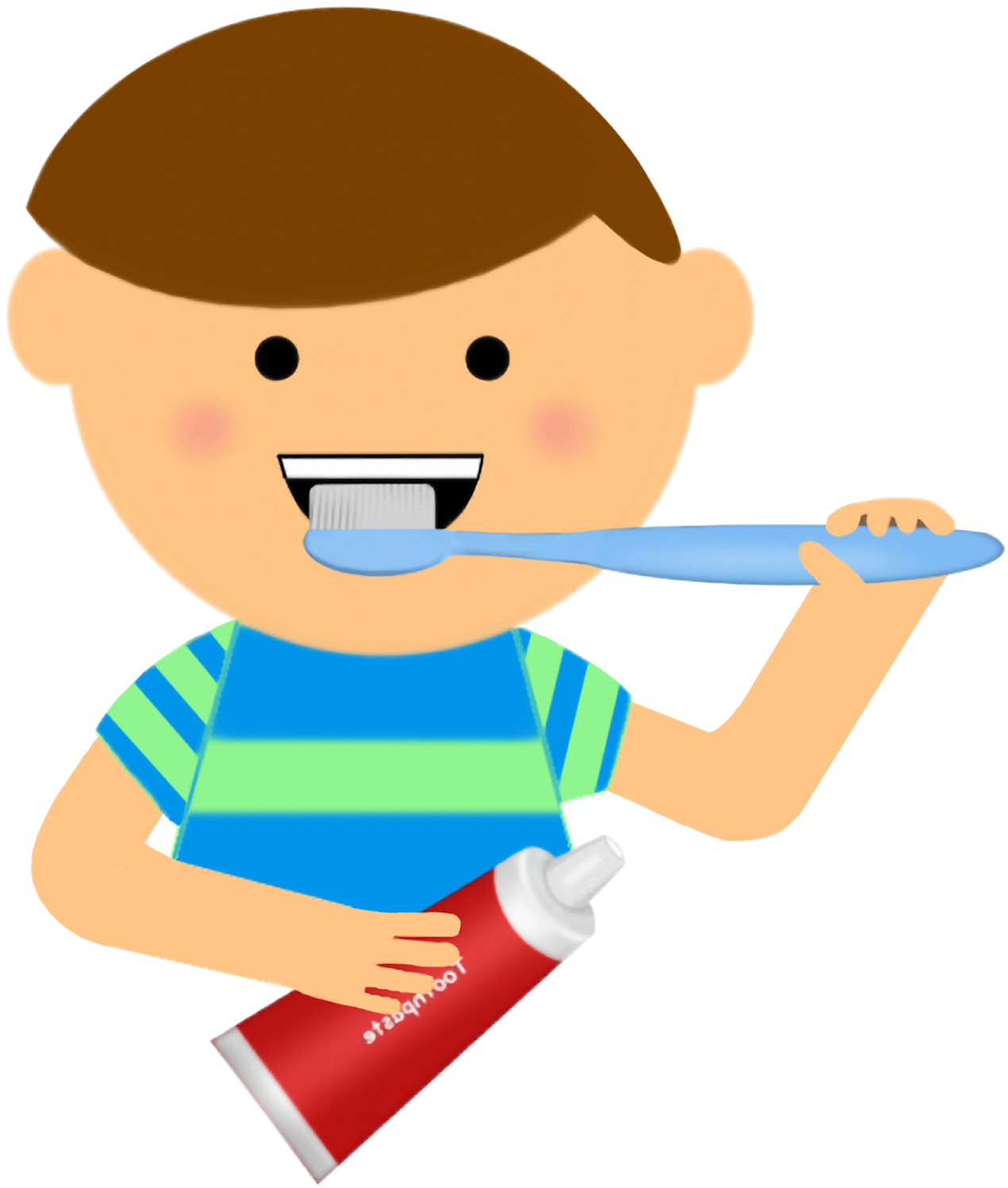 Brush Teeth Clipart Dental Health.