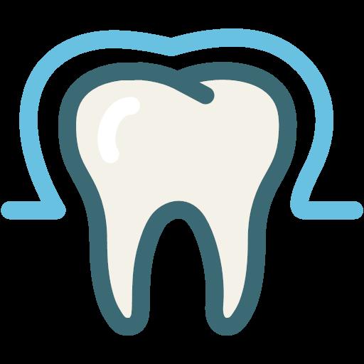 dentist enamel enamel teeth medical protection tooth icon.