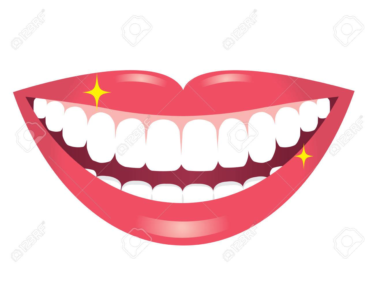 Lips and teeth clipart 1 » Clipart Station.