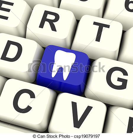 Stock Photographs of Tooth Key Means Dental Appointment Or Teeth.