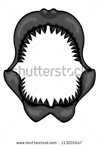 Teeth Shark Mouth Clipart Clipground