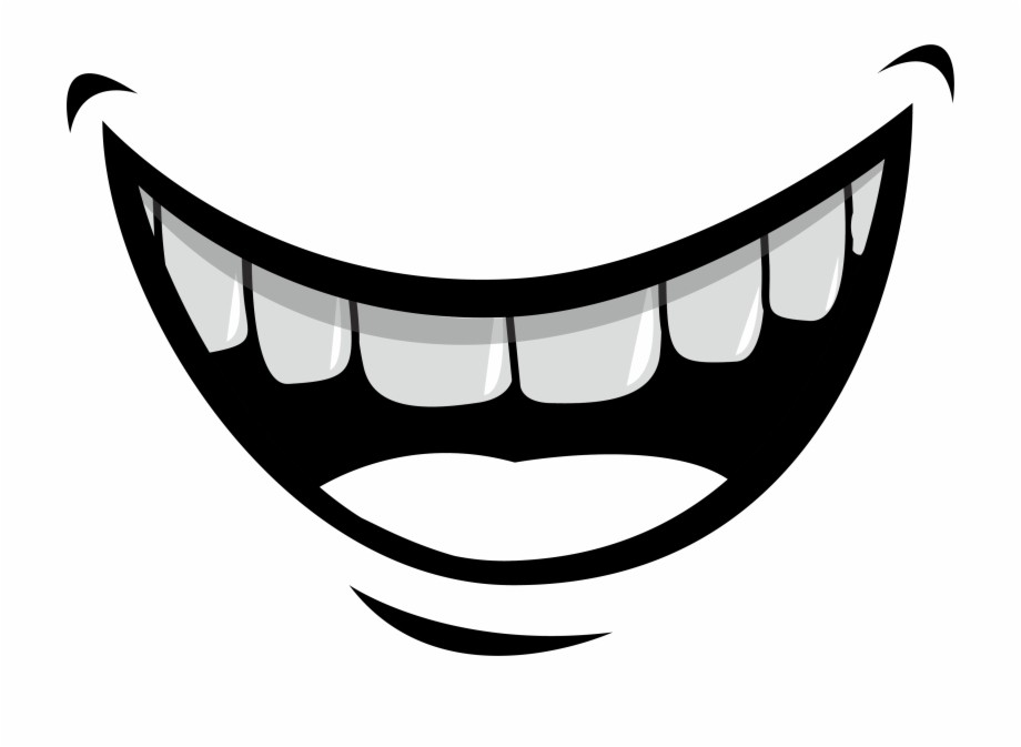 Smiling Teeth Png.