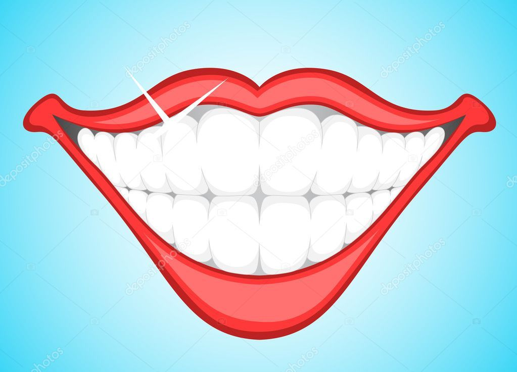 Teeth smile clipart 4 » Clipart Portal.