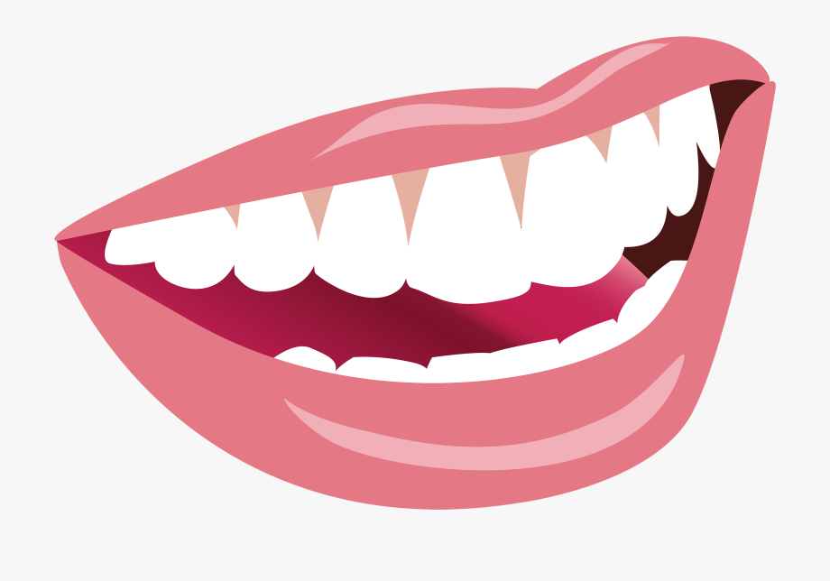 Smiling Mouth Png Clipart Image.