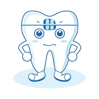 Character Characters Cartoon Dental Yawning Tooth Teeth Free.