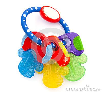 Teething Ring Stock Photos.