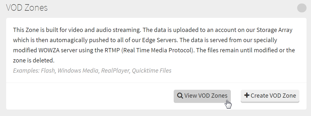 Get VOD Zone Embed Code.