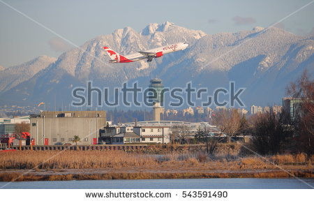 Vancouver Airport Stock Photos, Royalty.