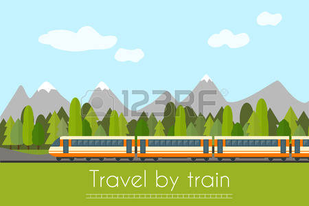 7,807 Train Track Cliparts, Stock Vector And Royalty Free Train.