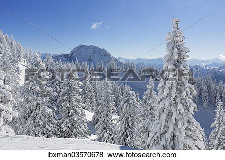 """Pictures of """"Hoher Straussberg Mountain, seen from Tegel Mountain."""