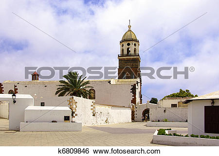 Stock Images of San Miguel, Teguise, Lanzarote k6809846.