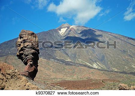 Picture of Teide,Teneriffa k9370827.
