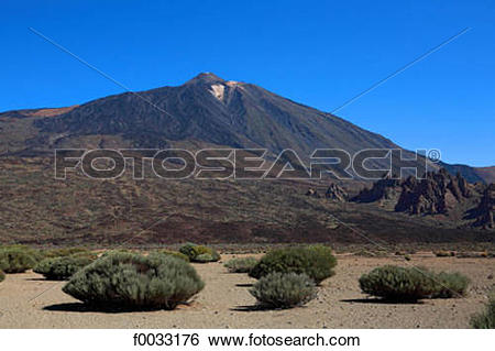 Stock Images of Spain, Canary islands, Tenerife, Teide national.