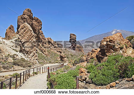 Pictures of Spain, Canary Islands, Tenerife, Mount Teide, Teide.