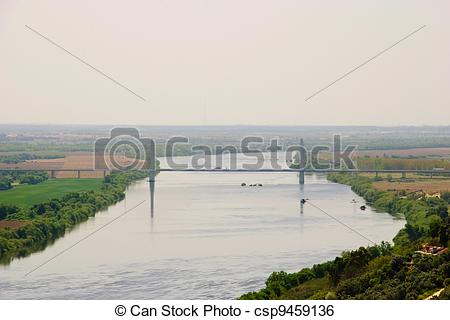 Stock Image of Tejo, Tagus Valley, Portugal.