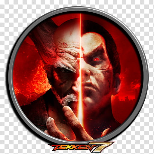 TEKKEN Icon, Tekken poster transparent background PNG.