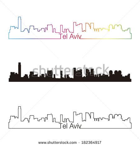 Tel Avive Stock Vectors & Vector Clip Art.