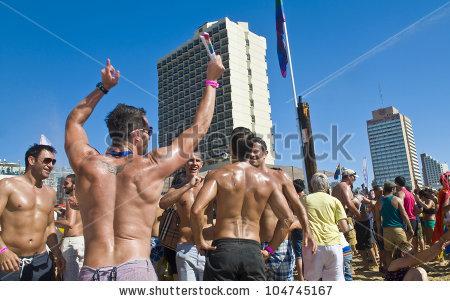Tel Aviv Gay Stock Photos, Royalty.