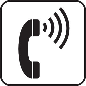 Volume Control Telephone White Clip Art at Clker.com.