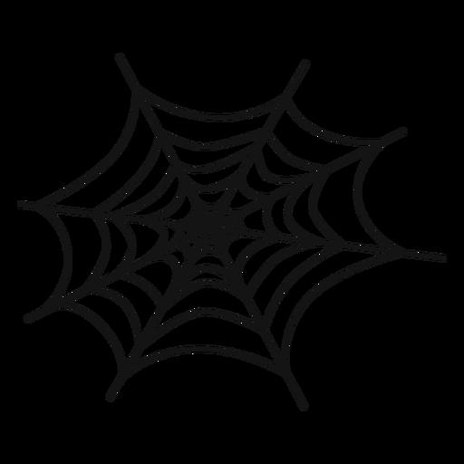 Cobweb hand drawn.