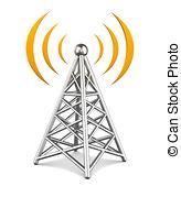 Telecommunications equipment Clip Art and Stock Illustrations.