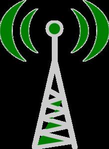 Wireless Telecommunication Clip Art.