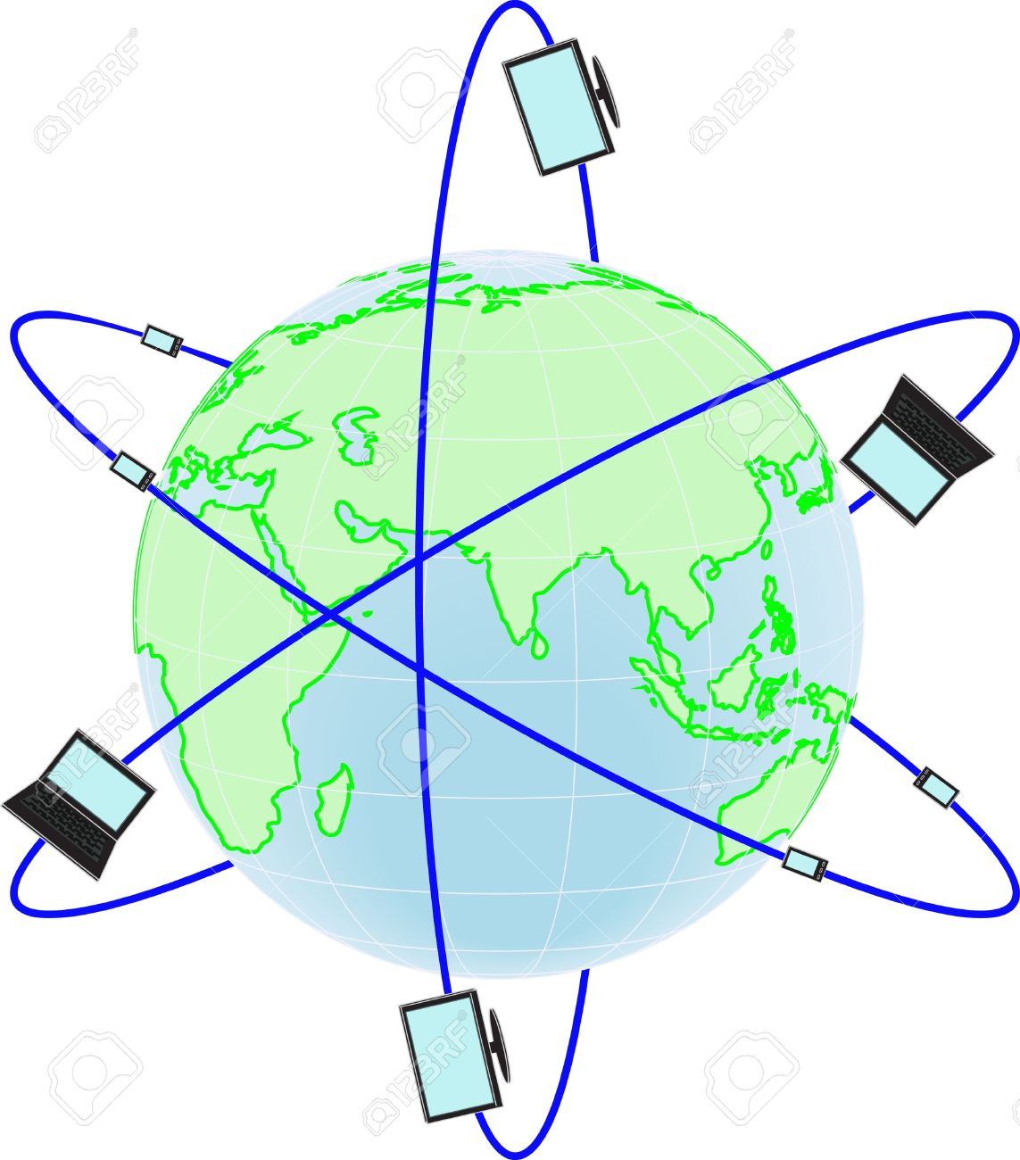 Globe telecom clipart.