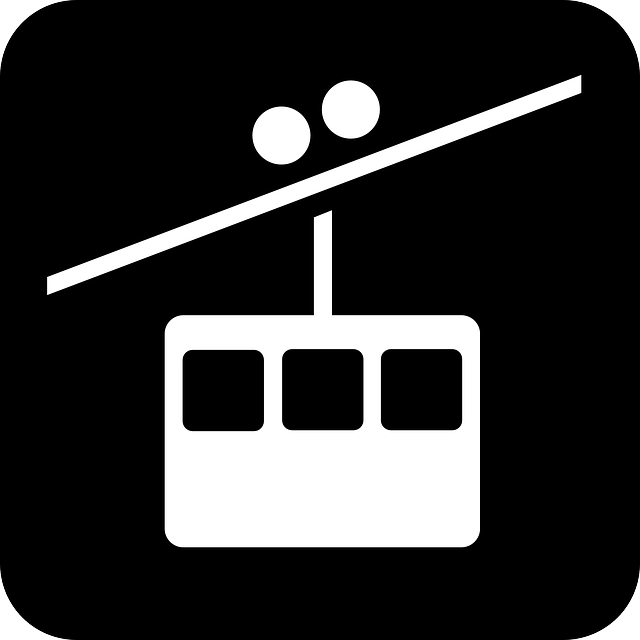 Free vector graphic: Cablecar, Cableway, Cable Car.