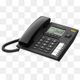 Alcatel T26 Telefone Fixo Preto PNG and Alcatel T26 Telefone.