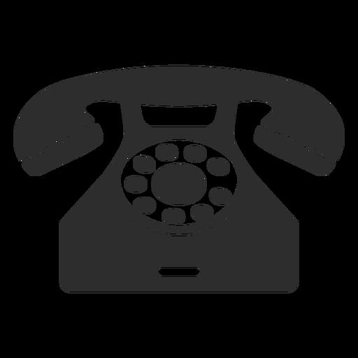 Classical rotary phone.