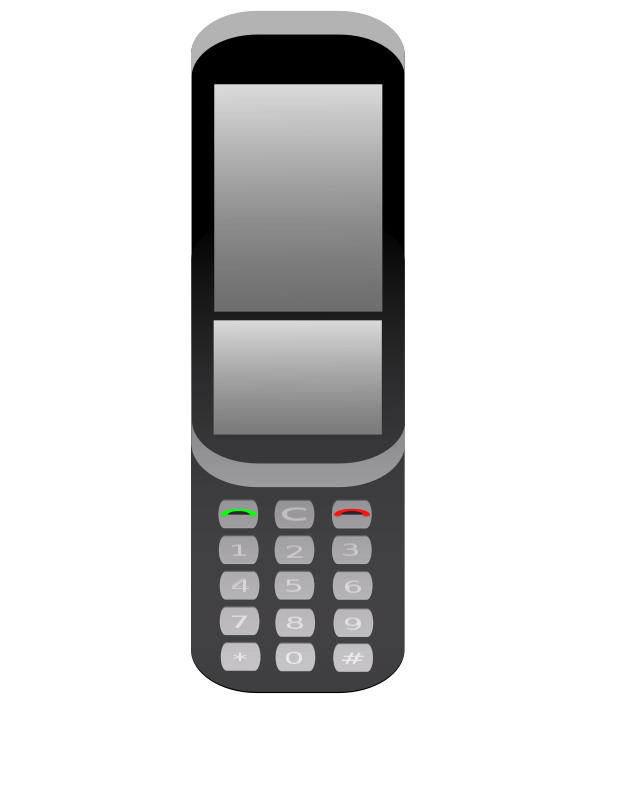 Free Clipart: Cellphone.