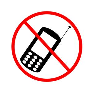 No cellphone. Prohibido el uso de telefono celular clipart.