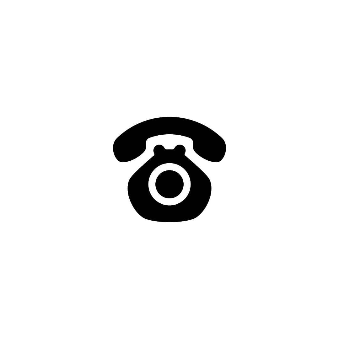 Dog + telephone logo concept in 2019.