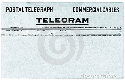 Telegram Stock Vector.