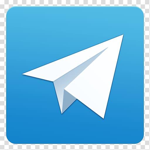White paper plane illustration, Telegram Android WhatsApp.