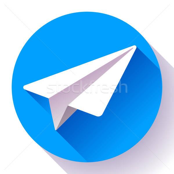 Telegram Stock Vectors, Illustrations and Cliparts.