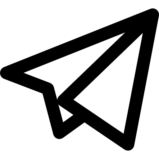 Telegram logo Icons.