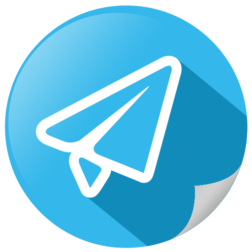 Email, mail, social, telegram icon.